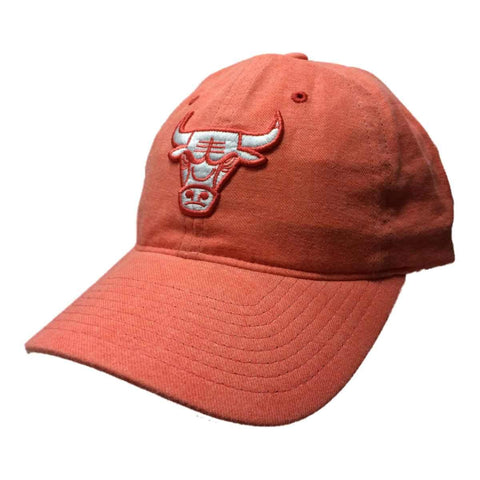 Chicago Bulls Mitchell & Ness WOMEN'S Coral Adjustable Strapback Hat Cap