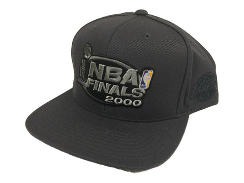 Los Angeles Lakers Mitchell & Ness Gray NBA Finals 2000 Adj. Flat Bill Hat Cap