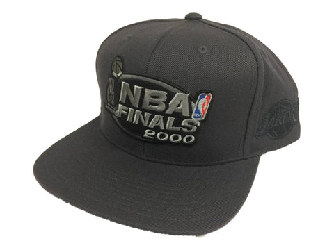 Shop Los Angeles Lakers Mitchell & Ness 2000 NBA Finals Throwback Snapback Hat Cap