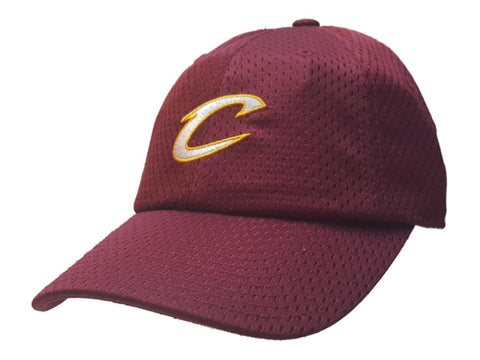 meet a8b3e 4714c Cleveland Cavaliers Mitchell & Ness Maroon Jersey Relaxed Adjustable Hat Cap