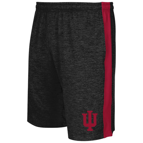Shop Indiana Hoosiers Colosseum Charcoal Elastic Waistband Workout Basketball Shorts