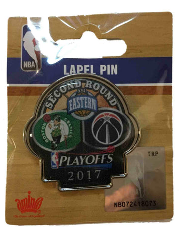 Boston Celtics Washington Wizards 2017  Playoffs Second Round Metal Lapel Pin - Sporting Up