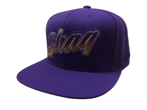 "Shop Shaquille ""Shaq"" O'Neal Los Angeles Lakers Mitchell & Ness Snapback Hat Cap"