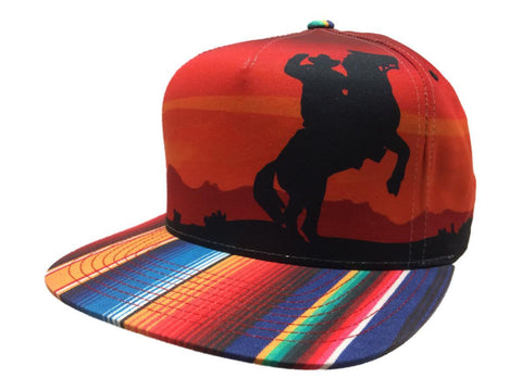 Shop Mitchell & Ness Desert Cowboy Multi-Color Adjustable Snapback Flat Bill Hat Cap