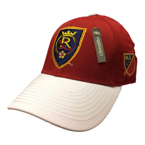 Shop Real Salt Lake Adidas Climalite Maroon Structured FitMax 70 Baseball Hat (S/M)