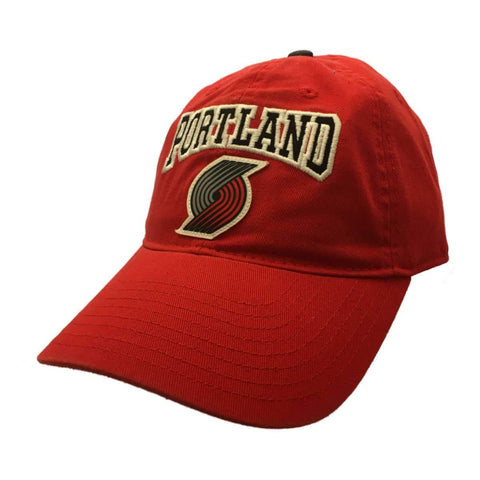 Portland Trail Blazers Adidas WOMENS Red Relaxed Strapback Baseball Hat Cap