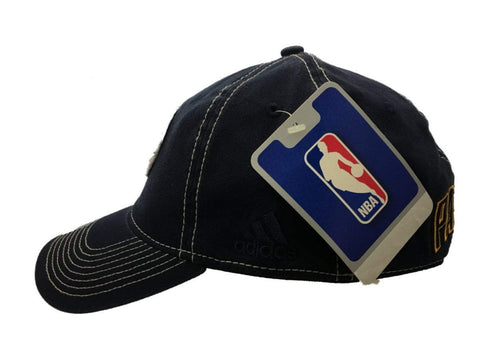 ... Indiana Pacers Adidas SuperFlex Navy Relaxed Style Fitted Baseball Hat  Cap (S M) ... 43bec541e91
