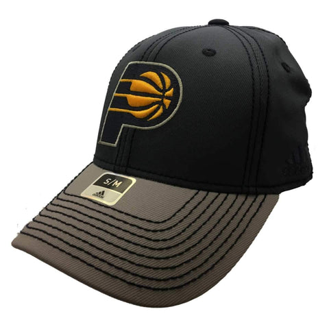 Shop Indiana Pacers Adidas FitMax 70 Two-Toned Gray Structured Baseball Hat Cap (S/M) - Sporting Up
