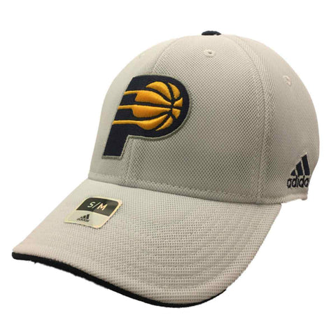 Shop Indiana Pacers Adidas FitMax 70 White Mesh Structured Baseball Hat Cap (S/M) - Sporting Up