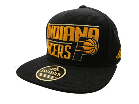 Shop Indiana Pacers Adidas Navy Structured Adjustable Snapback Flat Bill Hat Cap - Sporting Up
