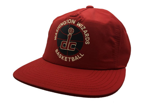 Washington Wizards Adidas Red Semi-Structured Snapback Painter Style Hat Cap