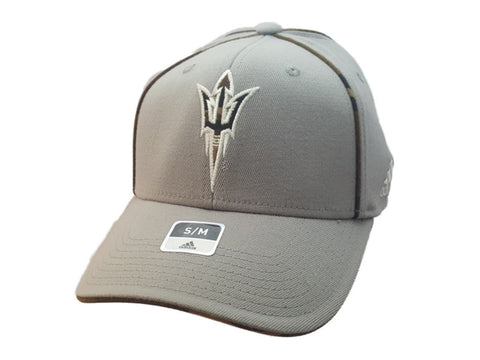 Shop Arizona State Sun Devils Adidas FitMax 70 Gray Camo Structured Baseball Hat Cap
