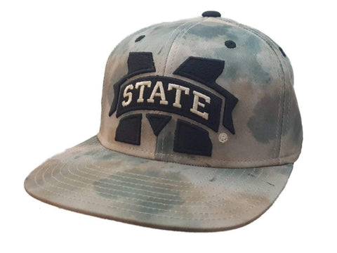 Mississippi State Bulldogs Adidas FitMax 70 Watercolor Camo Hat Cap (S/M)