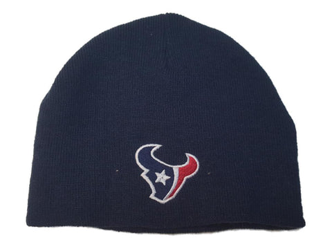 Houston Texans Reebok YOUTH Navy Blue Acrylic Knit Skull Beanie Hat Cap