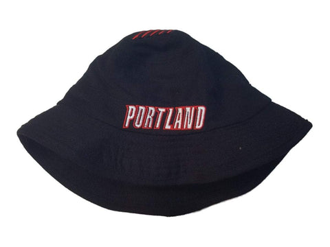 Shop Portland Trail Blazers NBA Adidas Black 100% Wool Bucket Hat Cap (S/M)