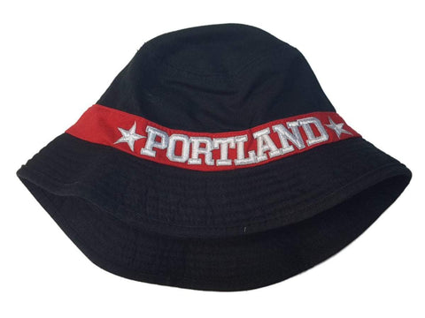 Shop Portland Trail Blazers NBA Adidas Black & Red 100% Cotton Bucket Hat Cap (S/M) - Sporting Up