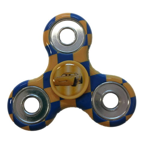 "Shop Cruz Ramirez ""Cars 3"" Disney Three Way Diztracto Printed Fidget Hand Spinner - Sporting Up"