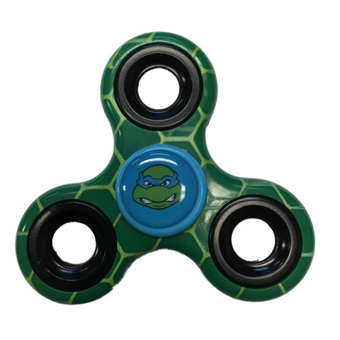 Shop Leonardo TMNT Teenage Mutant Ninja Turtles Three Way Fidget Hand Spinner