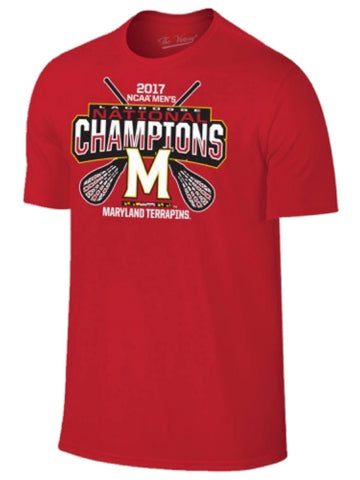 Shop Maryland Terrapins 2017 NCAA College Lacrosse LAX National Champions T-Shirt