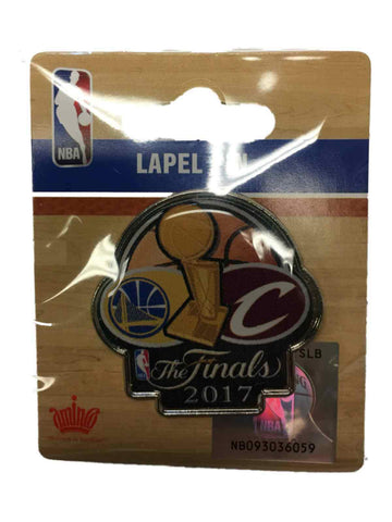 Shop Golden State Warriors Cleveland Cavaliers 2017  Finals Dueling Lapel Pin - Sporting Up