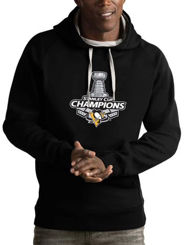 Shop Pittsburgh Penguins Antigua 2017 Stanley Cup Champions Hoodie Sweatshirt - Sporting Up