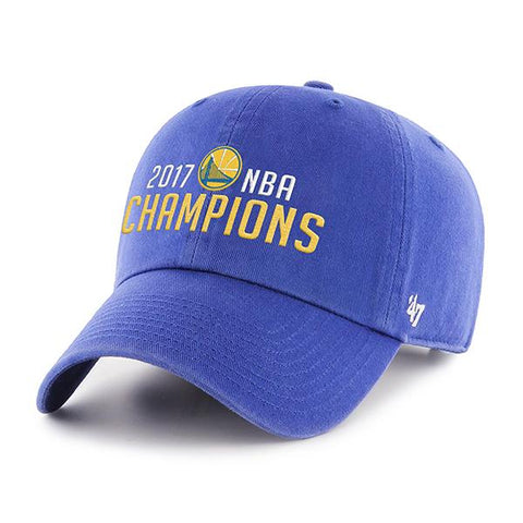 Shop Golden State Warriors 47 Brand 2017  Finals Champions Adjustable Hat Cap