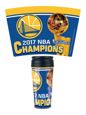 Shop Golden State Warriors 2017  Finals Champions Contour Travel Mug Tumbler - Sporting Up