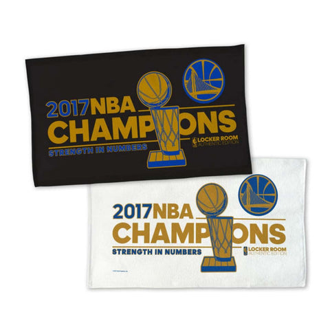 Shop Golden State Warriors 2017 NBA Finals Champions 2-Sided Locker Room Towel
