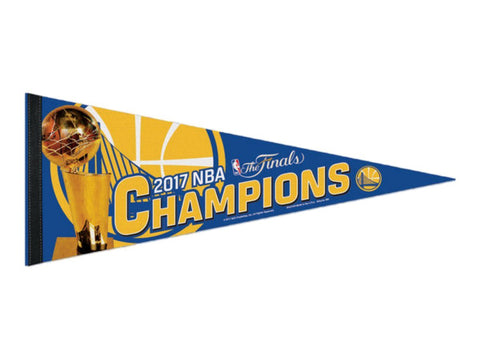 Golden State Warriors 2017 NBA Finals Champions WinCraft Premium Felt Pennant