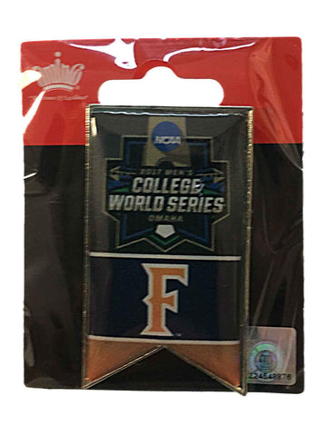 Shop Cal State Fullerton Titans 2017 NCAA Men's College World Series Banner Lapel Pin
