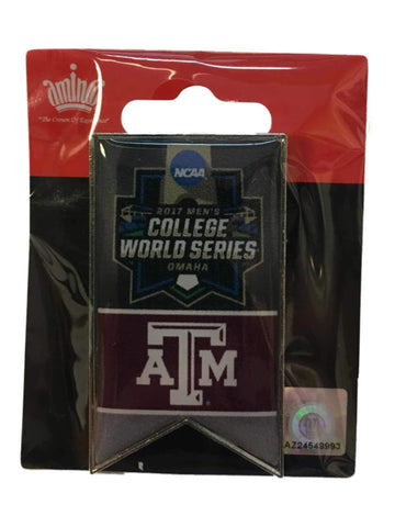 Shop Texas A&M Aggies 2017 NCAA Men's CWS College World Series Banner Lapel Pin
