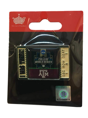 "Texas A&M Aggies 2017 NCAA Men's College World Series ""I Was There"" Lapel Pin"