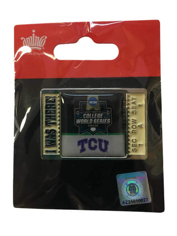 "Shop TCU Horned Frogs 2017 NCAA Men's College World Series ""I Was There"" Lapel Pin"