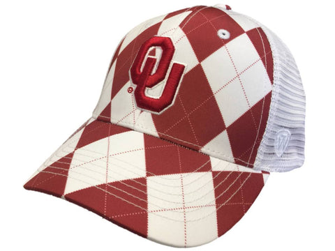 Shop Oklahoma Sooners TOW Red White Arguile Get Loud Mesh Adjustable Golf Hat Cap