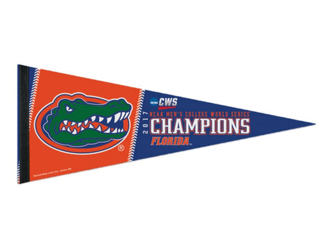 Florida Gators 2017 NCAA College World Series CWS Champions Premium Pennant