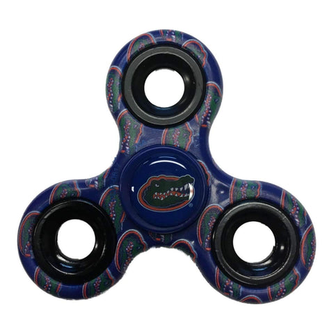 Florida Gators NCAA Blue Multi-Logo Three Way Diztracto Fidget Hand Spinner