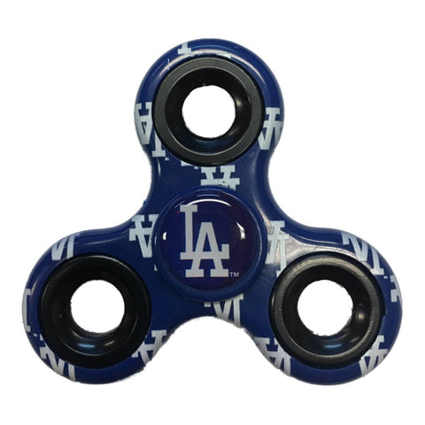 Los Angeles Dodgers MLB Blue Multi-Logo Three Way Diztracto Fidget Hand Spinner