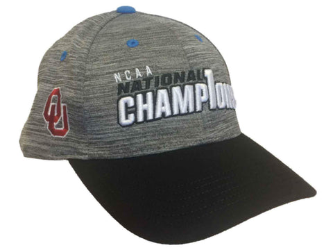 Oklahoma Sooners 2017 College Golf Champions Adjustable Locker Room Hat Cap