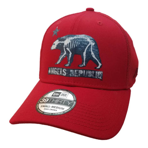 "Los Angeles Angels of Anaheim New Era Red ""Angels Republic"" Mesh Hat Cap (S/M)"