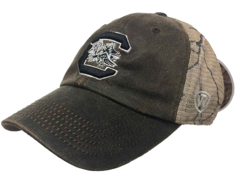 Shop South Carolina Gamecocks TOW Brown Realtree Camo Mesh Adjustable Snap Hat Cap