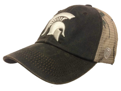 Shop Michigan State Spartans TOW Brown Realtree Camo Mesh Adjustable Snapback Hat Cap