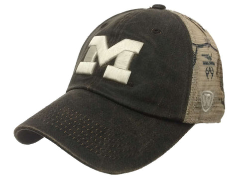 Michigan Wolverines TOW Brown Realtree Camo Mesh Adjustable Snapback Hat Cap