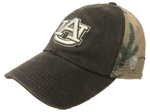Shop Auburn Tigers TOW Brown Realtree Camo Mesh Adjustable Snapback Hat Cap