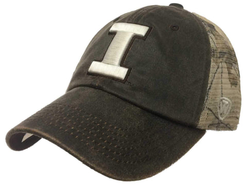 Shop Illinois Fighting Illini TOW Brown Realtree Camo Mesh Adjustable Snap Hat Cap