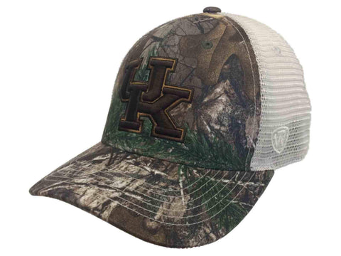 Shop Kentucky Wildcats TOW Realtree Camouflage Mesh Yonder Flexfit Structured Hat Cap