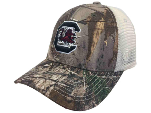 Shop South Carolina Gamecocks TOW Realtree Camouflage Mesh Yonder Adjust Snap Hat Cap
