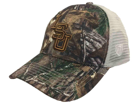 Shop LSU Tigers TOW Realtree Camouflage Mesh Yonder Adjustable Snapback Hat Cap