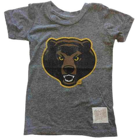 Shop Baylor Bears Retro Brand TODDLER Girl's Angry Bear Tri-Blend T-Shirt *RUNS SMALL