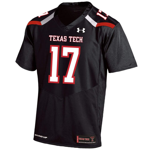 Texas Tech Red Raiders Under Armour On-Field Sideline Football Jersey
