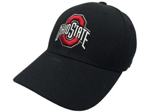 Ohio State Buckeyes TOW Memory Fit Black Structured Hat Cap (M/L)